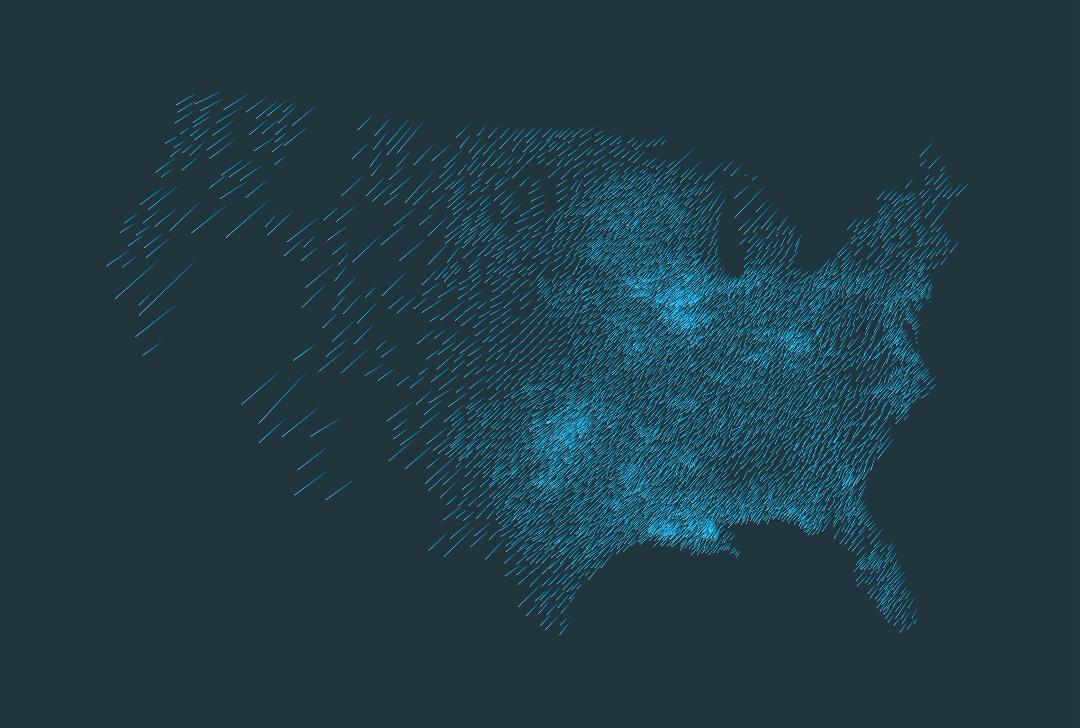 Visualisation graphique (programmée en Javascript) projetant les données, réalisée par David Bihanic, avril 2016 © David Bihanic